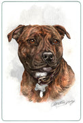 Staffordshire Bull Terrier Cutting Board