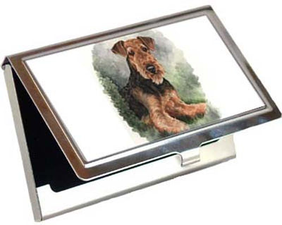 Airedale Terrier Card Case