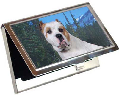American Bulldog Card Case