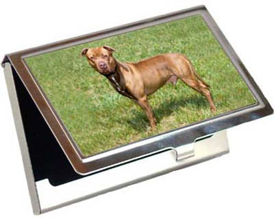 American Pitbull Card Case