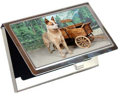 Australian Cattle Dog Card Case