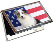 Australian Shepherd Card Case