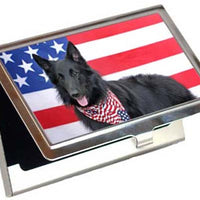 Belgian Sheepdog Card Case