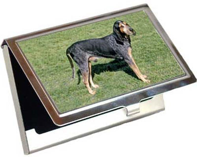 Blue Tick Coonhound Card Case