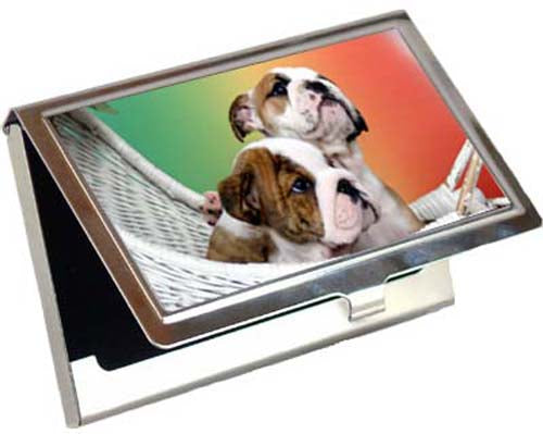 Bulldog Card Case