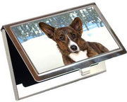 Cardigan Welsh Corgi Card Case