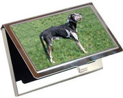 Catahoula Leopard Card Case