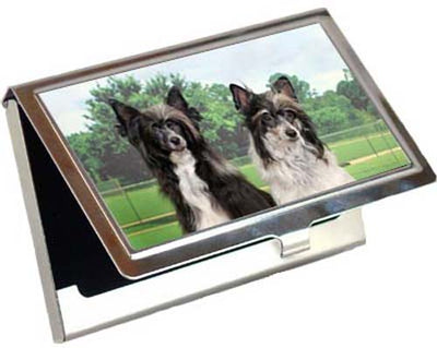 Chinese Crested Card Case