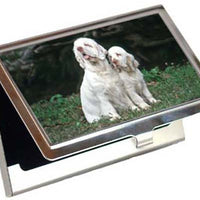 Clumber Spaniel Card Case