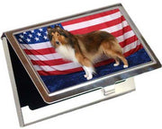 Collie Rough Card Case