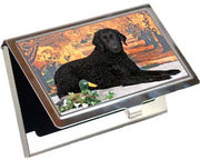 Curly Coated Retriever Card Case