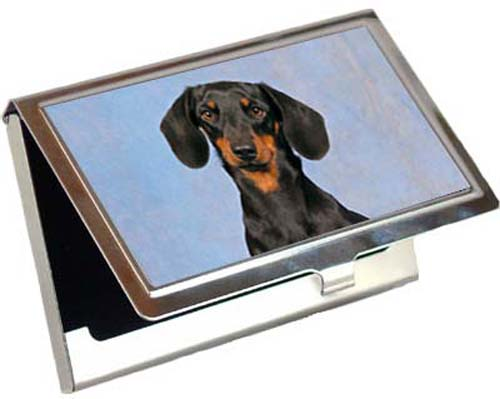Dachshund Card Case