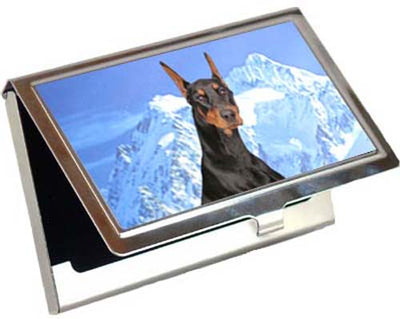 Doberman Pinscher Card Case