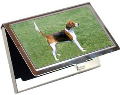 English Foxhound Card Case