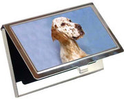 English Setter Card Case