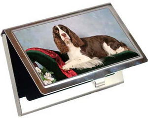 English Springer Spaniel Card Case