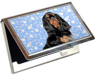English Toy Spaniel Card Case