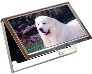 Great Pyrenees Card Case