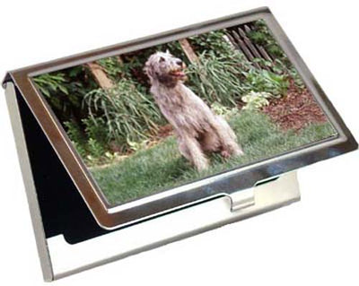 Irish Wolfhound Card Case