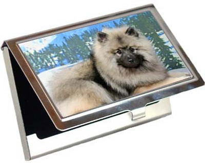 Keeshond Card Case