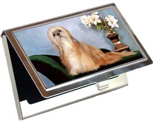 Lhasa Apso Card Case