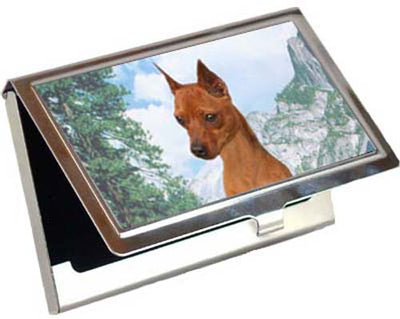 Miniature Pinscher Card Case