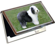 Old English Sheepdog Card Case