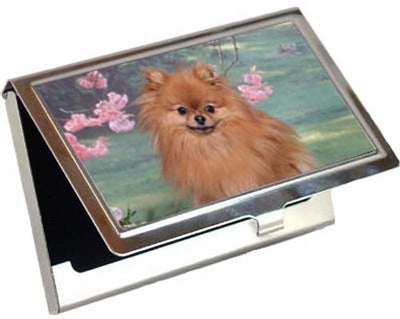 Pomeranian Card Case