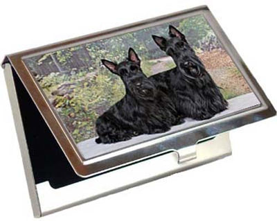 Scottish Terrier Card Case