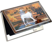 Toy Fox Terrier Card Case
