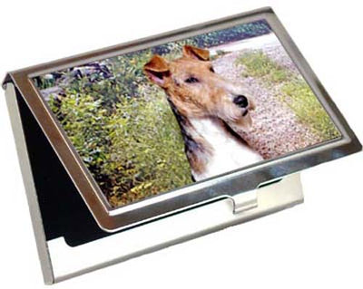 Wire Fox Terrier Card Case