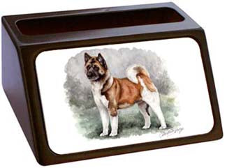 Akita Business Card Holder