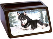 Alaskan Malamute Business Card Holder