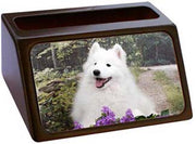 American Eskimo Business Card Holder