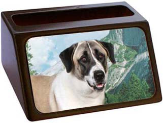 Anatolian Shepherd Business Card Holder