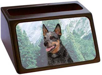 Australian Cattle Dog Business Card Holder