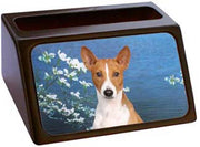 Basenji Business Card Holder