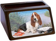 Basset Hound Business Card Holder