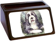 Bearded Collie Business Card Holder