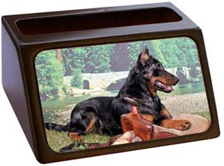 Beauceron Business Card Holder