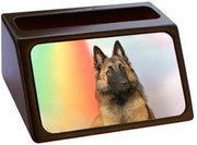 Belgian Tervuren Business Card Holder