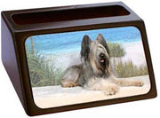 Briard Business Card Holder