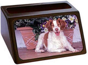 Brittany Spaniel Business Card Holder
