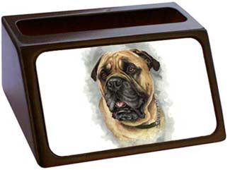 Bullmastiff Business Card Holder