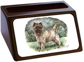 Cairn Terrier Business Card Holder