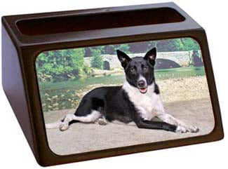 Canaan Dog Business Card Holder