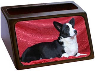 Cardigan Welsh Corgi Business Card Holder