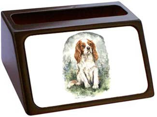 Cavalier King Charles Spaniel Business Card Holder