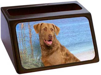 Chesapeake Bay Retriever Business Card Holder