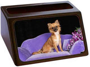Chihuahua Business Card Holder